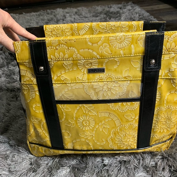 Miche Handbags - Miche NEW yellow embossed shell for large bag